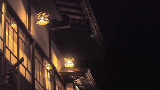 ginzan onsen hot spring town, japan - yamagata prefecture stock videos & royalty-free footage