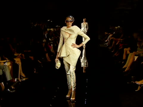 giorgio armani celebrates 'the oscars' with exclusive prive show at beverly hills california. - exklusiv stock-videos und b-roll-filmmaterial