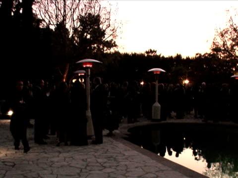 vidéos et rushes de giorgio armani celebrates 'the oscars' with exclusive prive show at beverly hills california - exclusivité