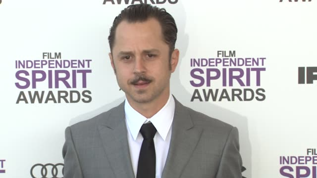 giovanni ribisi at the 2012 film independent spirit awards - arrivals on 2/25/12 in santa monica, ca. - giovanni ribisi stock videos & royalty-free footage