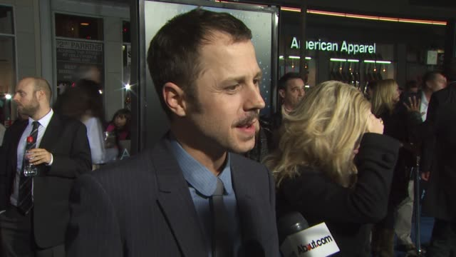 giovanni ribisi at the 'avatar' premiere at hollywood ca. - giovanni ribisi stock videos & royalty-free footage