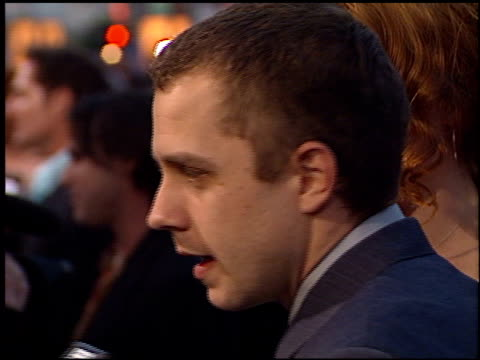 giovanni ribisi at the 'battlefield earth' premiere at grauman's chinese theatre in hollywood, california on may 10, 2000. - giovanni ribisi stock videos & royalty-free footage