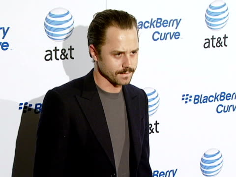 giovanni ribisi at the blackberry curve from at&t u.s. launch party at beverly hills california. - giovanni ribisi stock videos & royalty-free footage