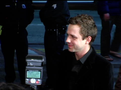 giovanni ribisi at the 'flight of the phoenix' los angeles premiere at the bruin theatre in westwood, california on december 15, 2004. - giovanni ribisi stock videos & royalty-free footage