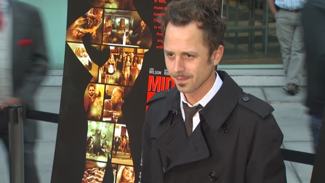 giovanni ribisi at the 'middle men' premiere at hollywood ca. - giovanni ribisi stock videos & royalty-free footage