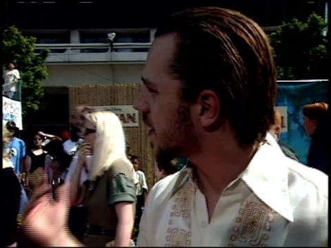 giovanni ribisi at the 'tarzan' premiere at the el capitan theatre in hollywood, california on june 12, 1999. - giovanni ribisi stock videos & royalty-free footage
