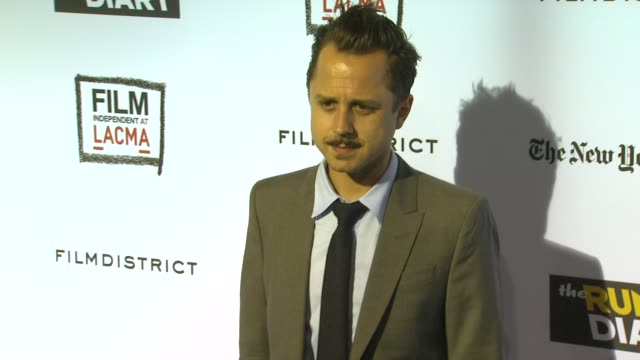 giovanni ribisi at the 'the rum diary' - los angeles premiere at los angeles ca. - giovanni ribisi stock videos & royalty-free footage
