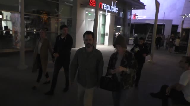 giovanni ribisi leaves a movie date at arclight hollywood at celebrity sightings in los angeles on october 11, 2019 in los angeles, california. - giovanni ribisi stock videos & royalty-free footage