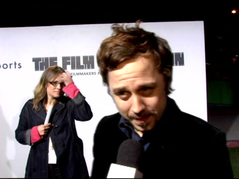 giovanni ribisi on why he came to support marc jacobs and on upcoming projects at the opening of marc jacobs' three los angeles stores at 8400... - giovanni ribisi stock videos & royalty-free footage