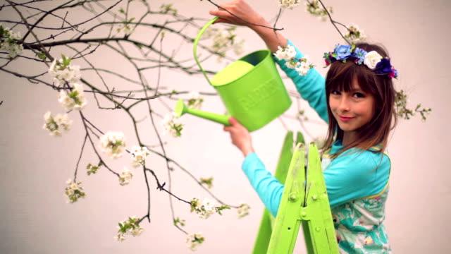 stockvideo's en b-roll-footage met girl 2 - keukentrap