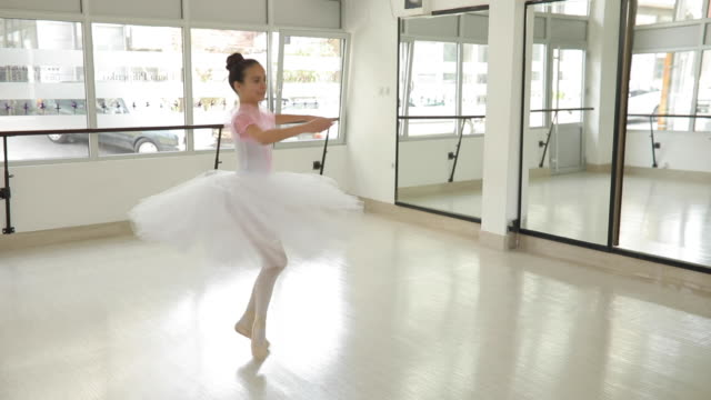 girl ballet dancer - small stock videos & royalty-free footage