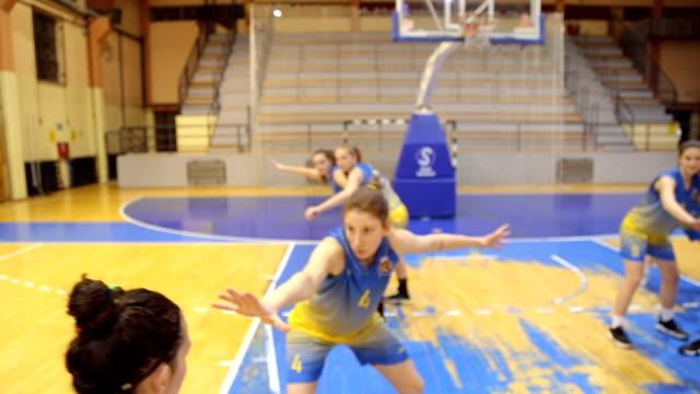 girl basketball jump shot - jump shot stock videos and b-roll footage