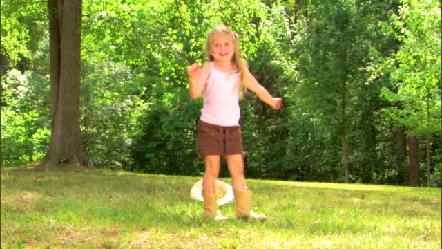 girl dancing in cowgirl boots - see other clips from this shoot 1428 stock videos & royalty-free footage