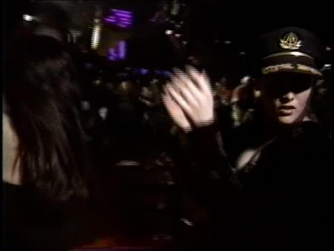 girl dancing in roxy nightclub - roxy nyc stock videos & royalty-free footage