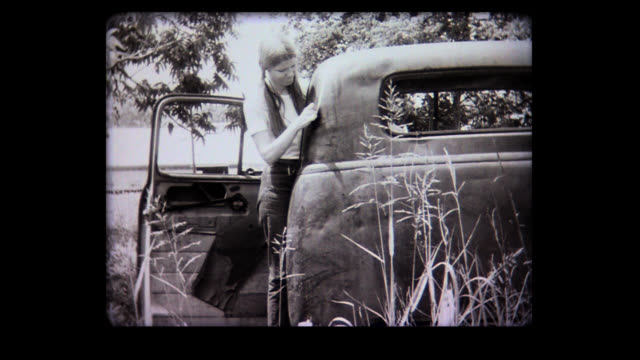 1968 girl draws a line everywhere - frauenrechte stock-videos und b-roll-filmmaterial
