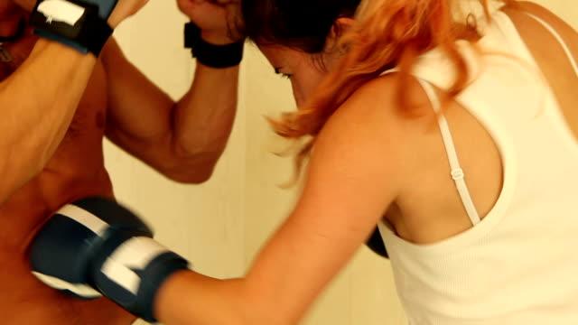 girl hitting man - self defense stock videos and b-roll footage