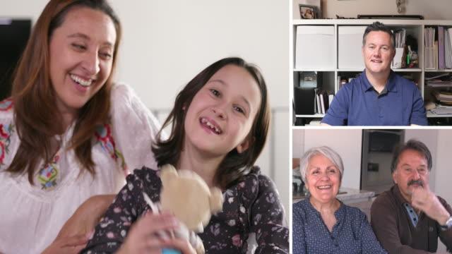 girl holding teddy bear - 10 11 år bildbanksvideor och videomaterial från bakom kulisserna