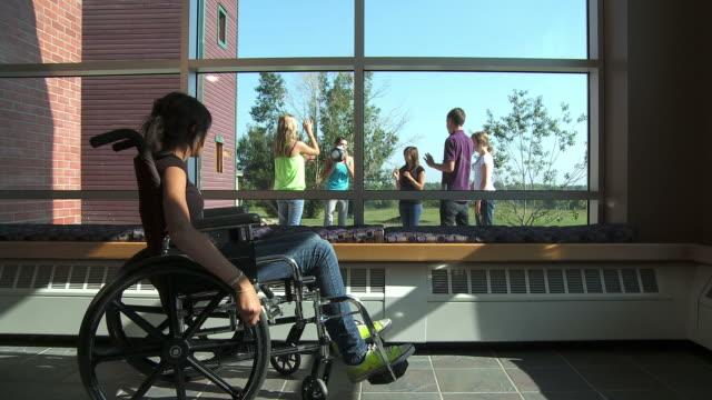 HD: Girl In A Wheelchair
