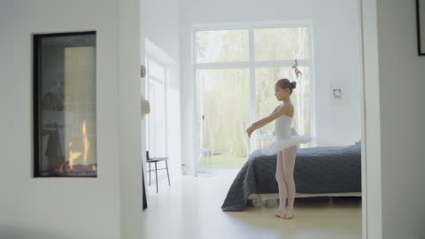 girl in ballerina dress - active lifestyle stock videos & royalty-free footage
