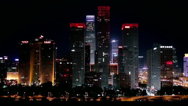 A girl in city night