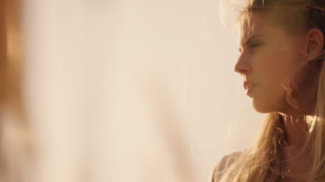 Girl in dunes