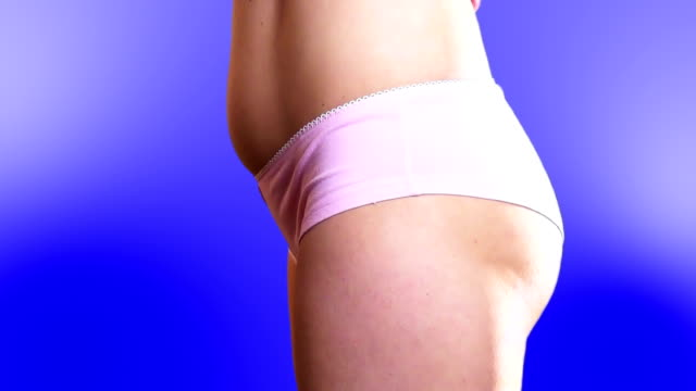 girl in underwear - pink shirt stock videos and b-roll footage