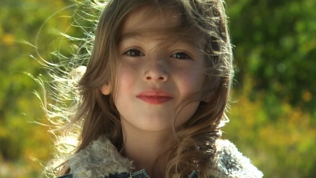 girl looking at camera - see other clips from this shoot 1165 stock videos and b-roll footage