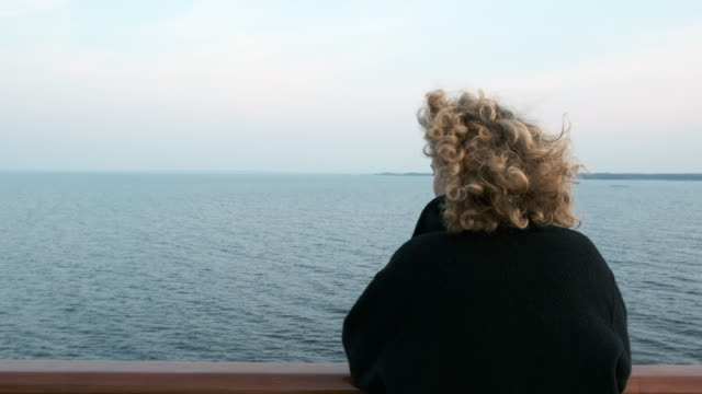 girl on ferry - ferry stock videos & royalty-free footage