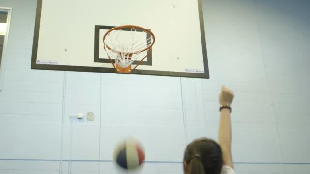 girl playing basket ball  - filipino ethnicity stock videos & royalty-free footage