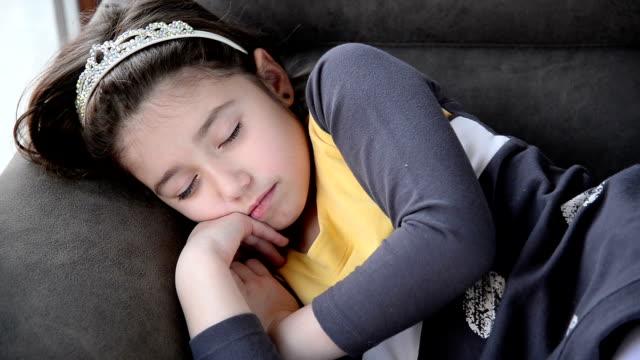 Meisje slapen