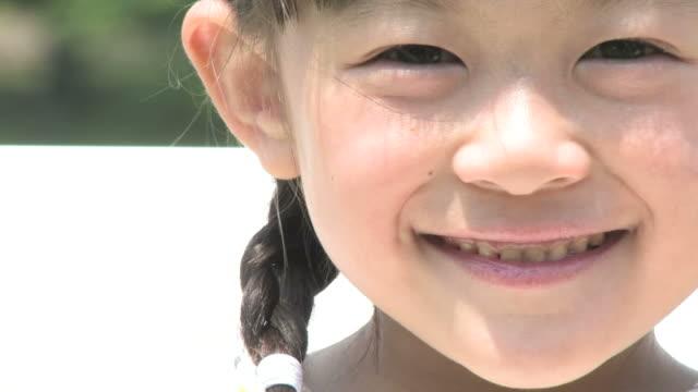 CU Girl smiling