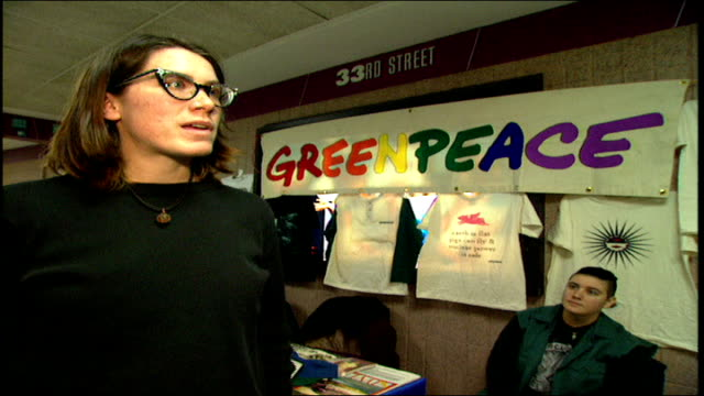Girl Talks about Areas where Greenpeace Operates