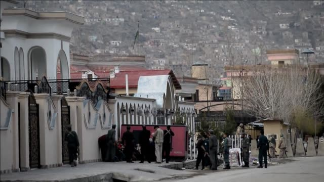 A girl was killed and one guard injured in a Taliban suicide attack on Friday on a Kabul guesthouse used by an anti landmine aid group Afghan...