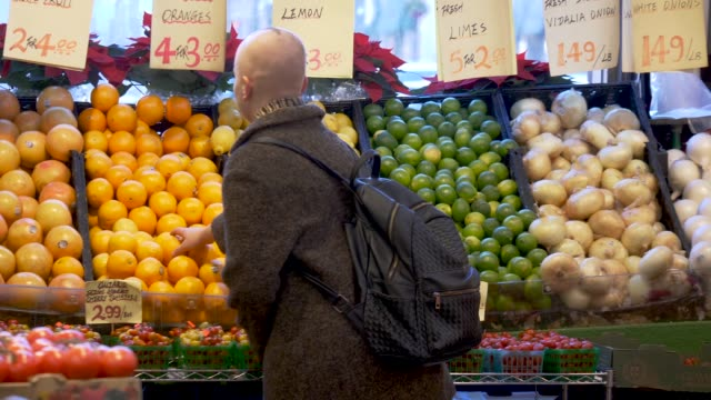 girl with cancer looking at produce - chronic illness stock videos and b-roll footage