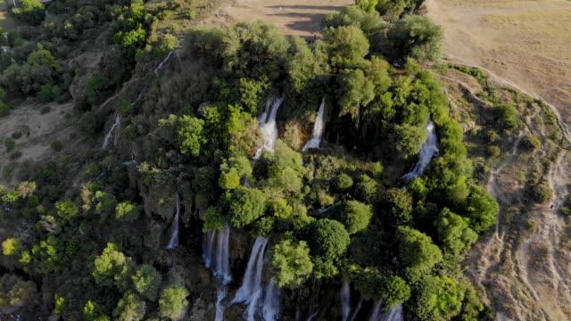 girlevik waterfall, erzincan turkey - ozgurdonmaz stock videos and b-roll footage