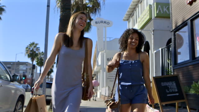 girlfriends - jumpsuit stock videos and b-roll footage