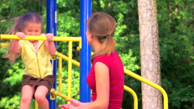 girls at a playground - see other clips from this shoot 1428 stock videos & royalty-free footage
