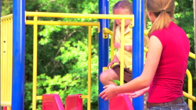 Girls at a playground