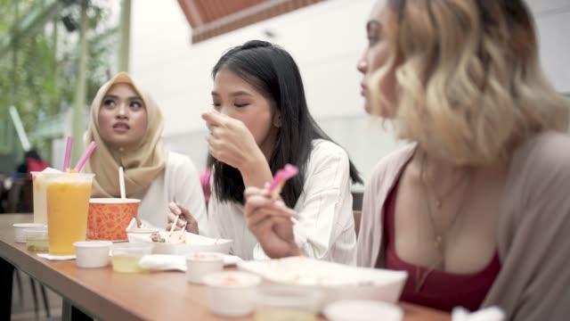 girls at the restaurant - girlfriend stock videos & royalty-free footage
