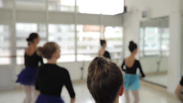 girls ballet dancers - small stock videos & royalty-free footage