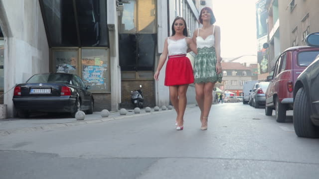 girls in dresses - well dressed stock videos & royalty-free footage