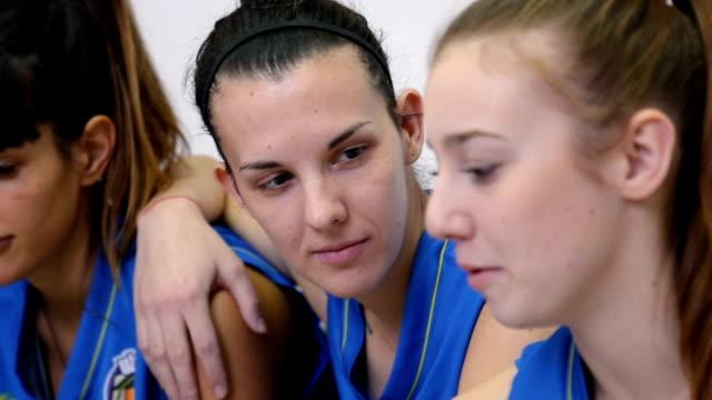 girls in locker room - locker room stock videos and b-roll footage