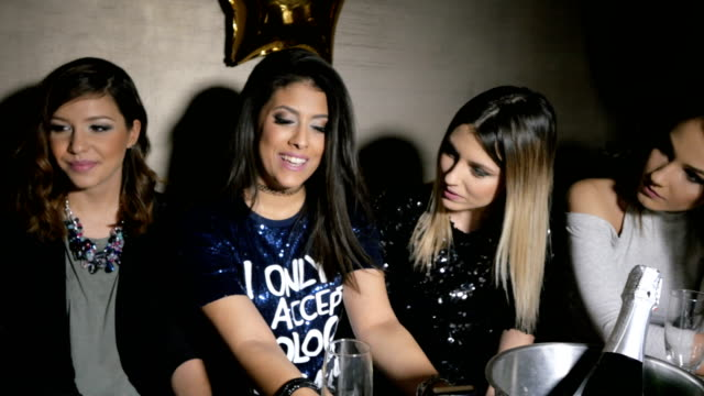 girls night out - party social event stock videos & royalty-free footage