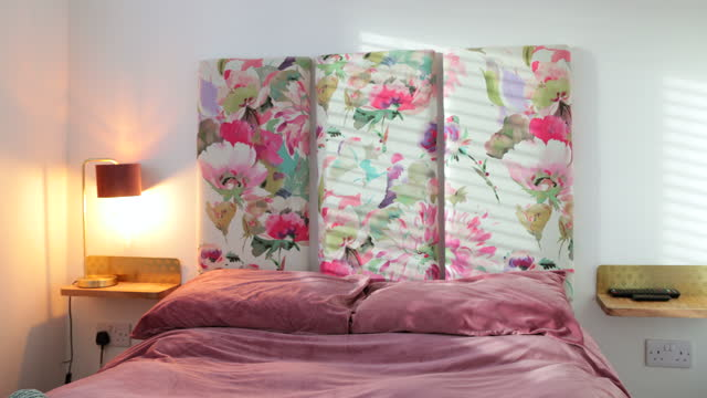girly bedroom interior - 4k resolution stock videos & royalty-free footage