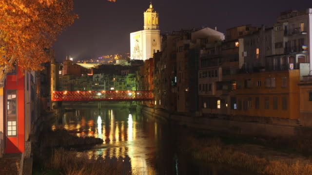 Girona Eiffel´s Bridge time lapse 4K
