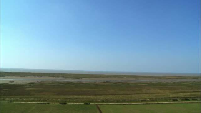 ws, ha, pan, gironde estuary, talmont, aquitaine, france - gironde estuary stock videos and b-roll footage