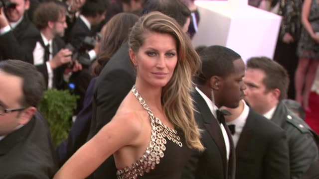 Gisele Bundchen at PUNK Chaos To Couture Costume Institute Gala at Metropolitan Museum of Art on May 06 2013 in New York New York