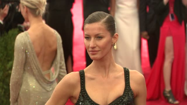 Gisele Bundchen at Schiaparelli And Prada Impossible Conversations Costume Institute Gala at Metropolitan Museum of Art on May 07 2012 in New York...