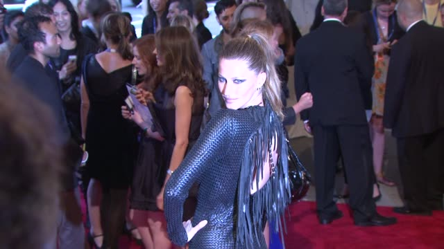 Gisele Bundchen at the 'American Woman Fashioning A National Identity' Met Gala Arrivals at New York NY