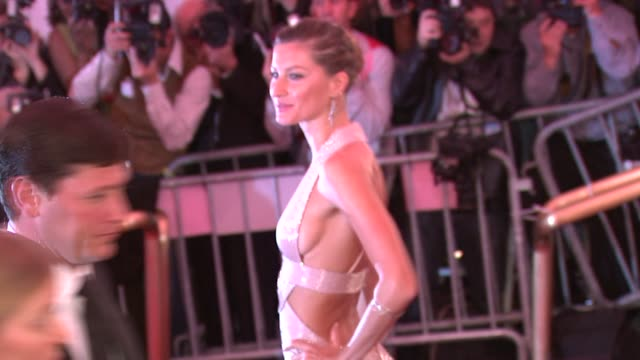Gisele Bundchen at the Superheroes Fashion and Fantasy Costume Institute Gala at The Metropolitan Museum of Art at the Metropolitan Museum of Art in...